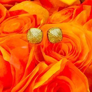 Kate Spade almost new crystal stud  earrings